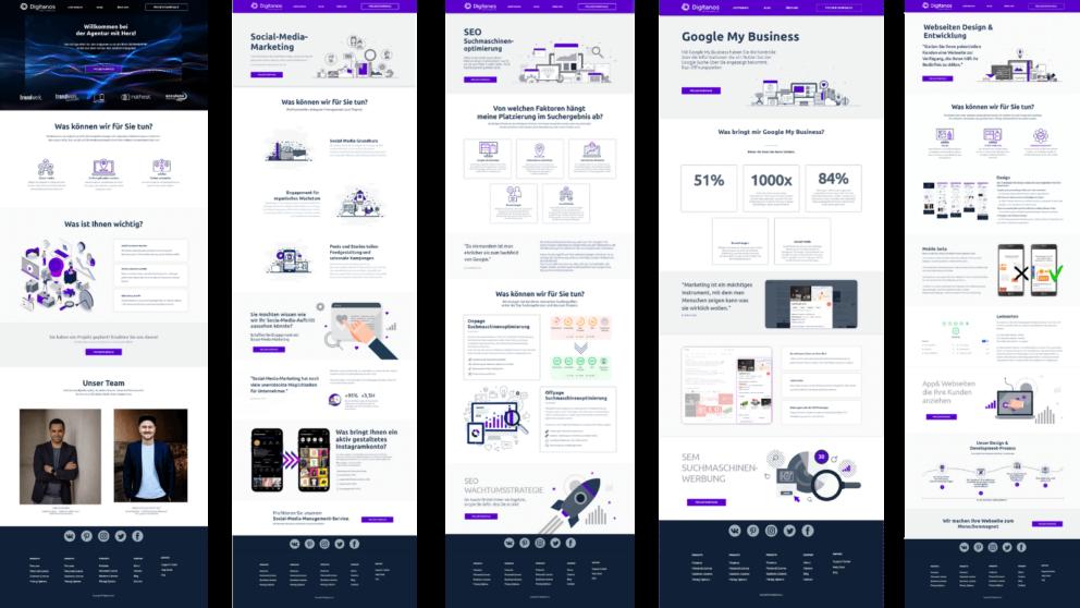 Webdesign Agentur - Digitanos Online Marketing Agentur Bad Ischl