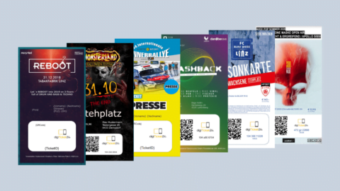Digitale Event-Tickets